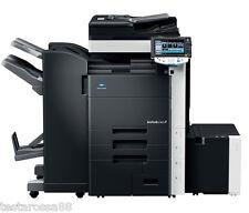 Konica Minolta Bizhub C452 Photocopier Printer Copy/Scan High Capacity Finisher