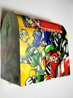 NOS Vtg POWER RANGERS Valentine Card Lot In Graphic Designed Collector Case NEW!