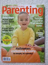 Parenting Magazine October 2007 Baby Steps Myths and Truths About Walking