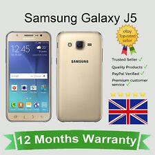 Desbloqueado Samsung Galaxy J5 (J500) Android Teléfono Móvil-Oro 16GB