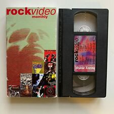 Rock Video Monthly VHS December 1993 Heavy Metal Bad Religion Paradise Lost