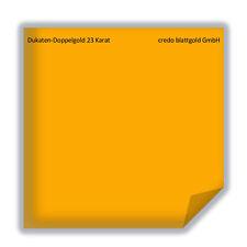 Dukaten-Doppelgold Blattgold 23 Karat lose - 10 Blatt neu