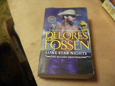 The Mccord Brothers: Lone Star Nights by Delores Fossen (2016, Paperback)  r