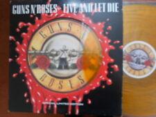"GUNS N'ROSES, ""Vivi e lascia morire"", RARE, Ltd Edition, ORANGE VINYL 12"" SINGLE!!!"