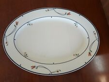 """Town & Country """"Ariana"""" by Gorham 14"""" Oval Serving Platter plate"""