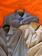 Set of 3 Mens Ralph Lauren and Brooks Brothers 16 x 35 Dress Shirts