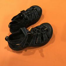 KEEN Youth Blue, Kid's Durable Waterproof Sandal Shoes Kids Size 12 - EUC