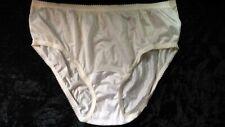 New listing Vintage 1990's 100% Soft Nylon Bikini Panties Size 7 by Shadowline Yellow