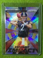 MASON RUDOLPH PRIZM RC ROOKIE CARD JERSEY #2 PITTSBURGH STEELERS - 2018 Prizm SP