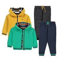 3 Piece Boys SoulCal Hoodie T Shirt Bottoms Jog Set Sizes Age from 2 to 7 Yrs