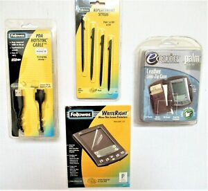 HP PALM COMPAQ IPAQ SONY PDA Accessories Stylus Cases Chargers Screen Protectors