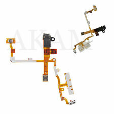 Nuevo Reemplazo Para Auriculares Audio Jack Flex Cable Negro Iphone 3GS