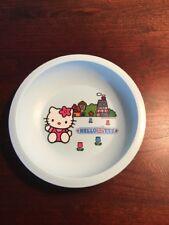 Hello Kitty Blue Plastic Child's Bowl.