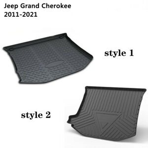 Car Cargo Liner Mat Rear Boot Trunk Heavy Duty for Jeep Grand Cherokee 2011-2021