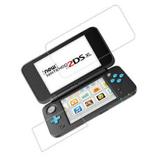 Tempered Glass Screen Protector ( Top Glass +  Bottom ) For Nintendo 2DS LL/XL