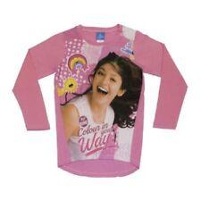 Luna Mädchen-T-Shirts & -Tops mit Rundhals-Ausschnitt aus 100% Baumwolle