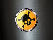1 x adhesivo cárnica 006 radiactivo Radioactive Biohazard sticker Shocker