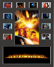 Armageddon Replica Film Cell Presentation 10x8 Mounted 10 cells