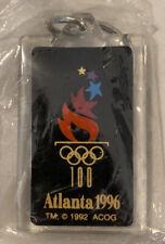 1996 Atlanta Olympics Keychain Sports 2� Plastic Souvenir Key Chain
