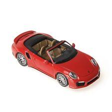 1:43 Porsche 911 Turbo S Cabriolet 2013 1/43 • MINICHAMPS 410062230 #