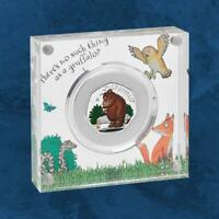 Großbritannien - The Gruffalo and Mouse - 50 Pence 2019 Silber PP - United  ...