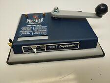 PREMIER Supermatic Cigarette Machine Tobacco Injector Rolling Maker Kings E7
