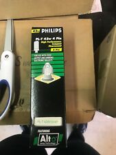 Philips PL-T 42W/35/4P High Performance Compact Fluorescent Lamp 42W  LOT OF 12