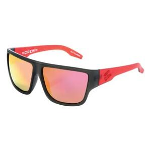Carve Crew Sunglasses - Black / Red NEW