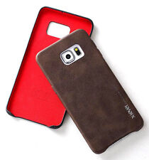 Leather Matte Cases, Covers & Skins for Samsung Galaxy S7 edge