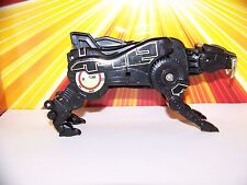 Mighty Morphin Power Rangers Black Gold Megazord Sabretooth Tiger Zord NICE 1993