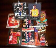 8 (Lot) 6 Fastory Sealed Hobby Packs and 2 Kobe Bryant Anthology Cards