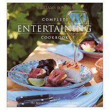 Williams Sonoma Complete Entertaining Recipe Cookbook Goldstein Esersky Williams