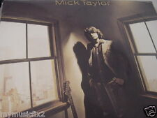 MICK TAYLOR SELF TITLED CBS/COLUMBIA RECORDS PC 35076 RARE FACTORY SEALED LP