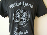 *NEW TAGGED* AMPLIFIED MOTORHEAD ENGLAND LEMMY GREY MENS T SHIRT SIZES S 38""