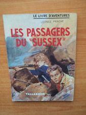 """LES PASSAGERS DU """"SUSSEX"""""""