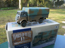 CORGI  MILITAIRE REF CC 60301 BEDFORD QLT TRANSPORT DE TROUPE ROYAL NAVY  MIB