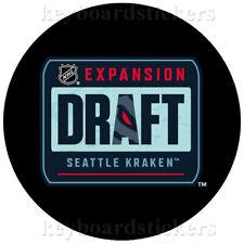 2021 Nhl Seattle Kraken Expansion Draft Official Souvenir Hockey Puck - New