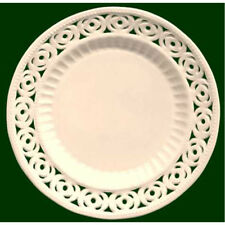 Royal Creamware Medallion Plates 9 inch (Pack of four)