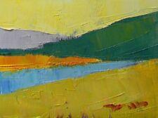 JOSE TRUJILLO - Original OIL PAINTING MODERN IMPRESSIONIST Colorist Lemon Yellow