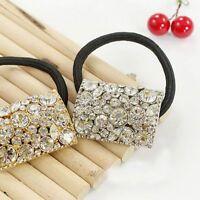 Hair Rope Tie Crystal Rhinestone Ponytail Holder Hair Band Hair Accessories