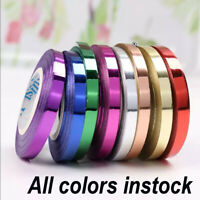 Balloon 5mm Curling Ribbon Metallic Ribbon Chose Your Colour Party Present Wrap