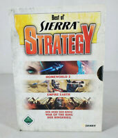 Best of Sierra Strategy Games GERMAN Homeworld 2 Empire Earth War Of the Ring PC