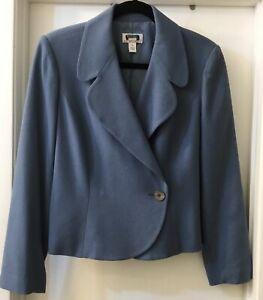 Cornflower Blue Short Blazer, Sz 12P