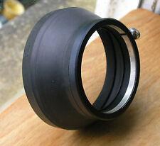 Más tarde Canon Lens Hood S-60 Abrazadera De Goma En sobre 58mm