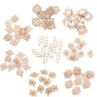 10pcs Flower Filigree Earring Jewelry Making for Earring Drop Pendant Findings