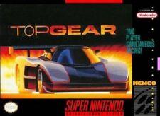 Top Gear - SNES Super Nintendo Game