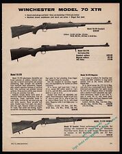1980 WINCHESTER Model 70 XTR Standard, Varmint and 70A XTR Rifle AD