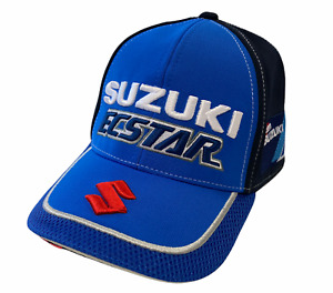 Suzuki Ecstar Baseball Cap Kids Team Suzuki Motorsport Racing Cap - Blue - New
