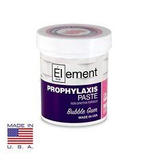 Element Medium Grit Bubble Gum Prophy Paste Dental Prophylaxis 170g 6 Oz Jar