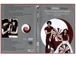 WHITE STRIPES-2001-2004 VIDEO,TV&LIVE PERFORMANCES-DVD-WE'RE GOING TO BE FRIENDS
